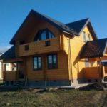 Частный дом SOFTLINE 70 Болотный дуб2