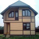 Частный дом SOFTLINE 70 Шоколадно-коричневый