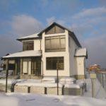 Частный дом SOFTLINE 82 Антрацитово-серый