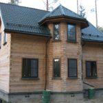 Дачный домик EUROLINE 58 Шоколадно-коричневый