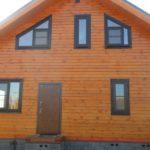 Дачный домик SOFTLINE 70 Шоколадно-коричневый