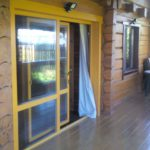 Паралелльно-сдвижная дверь SOFTLINE 70 Орегон